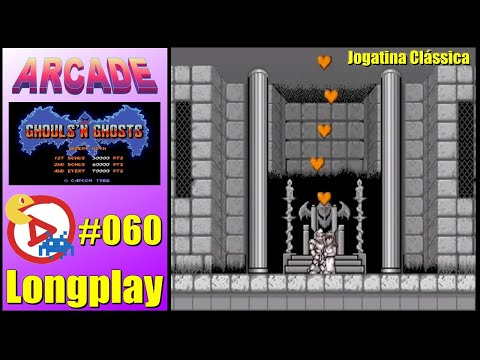 Arcade Longplay Ghouls'n Ghosts