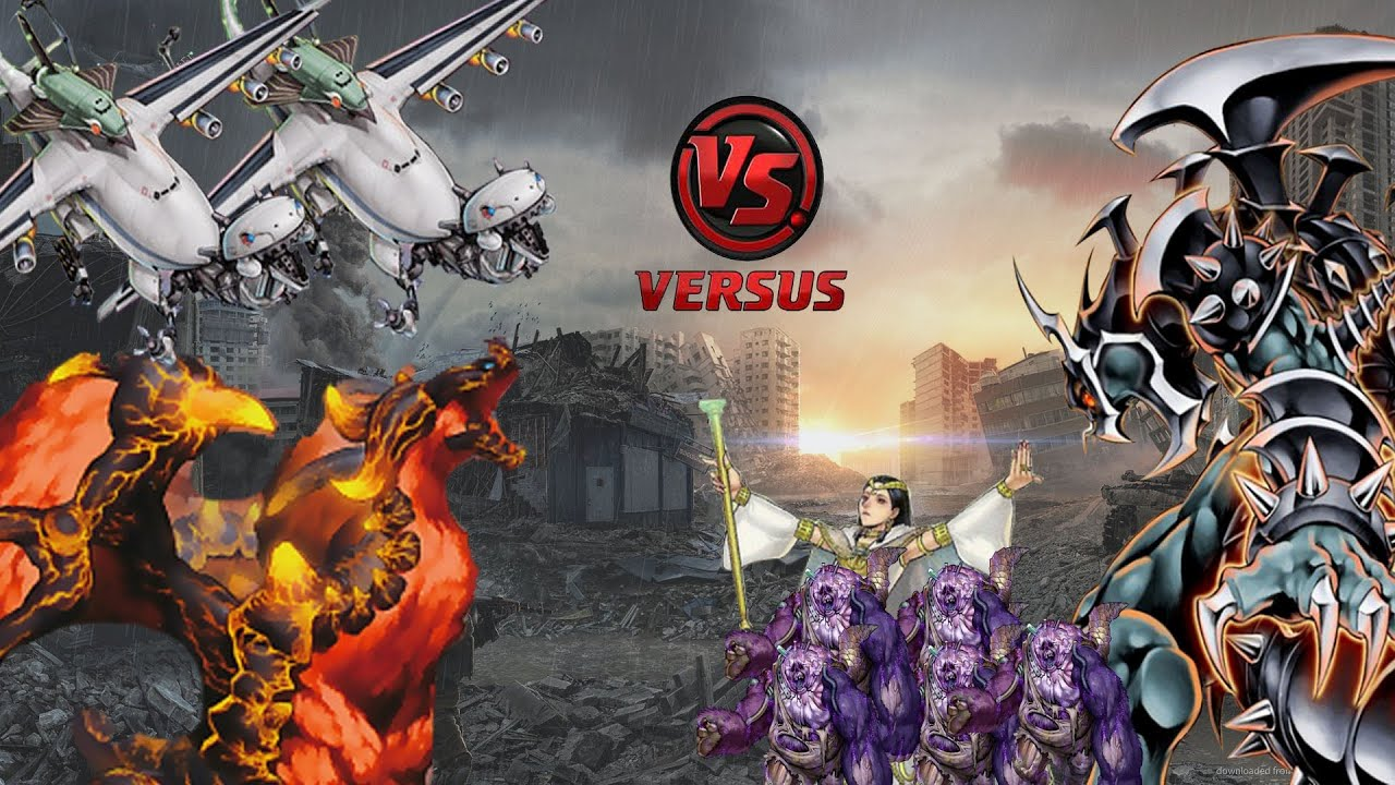 Dragon Ruler Wallpaper Yamata Dragon Ruler vs Chaos