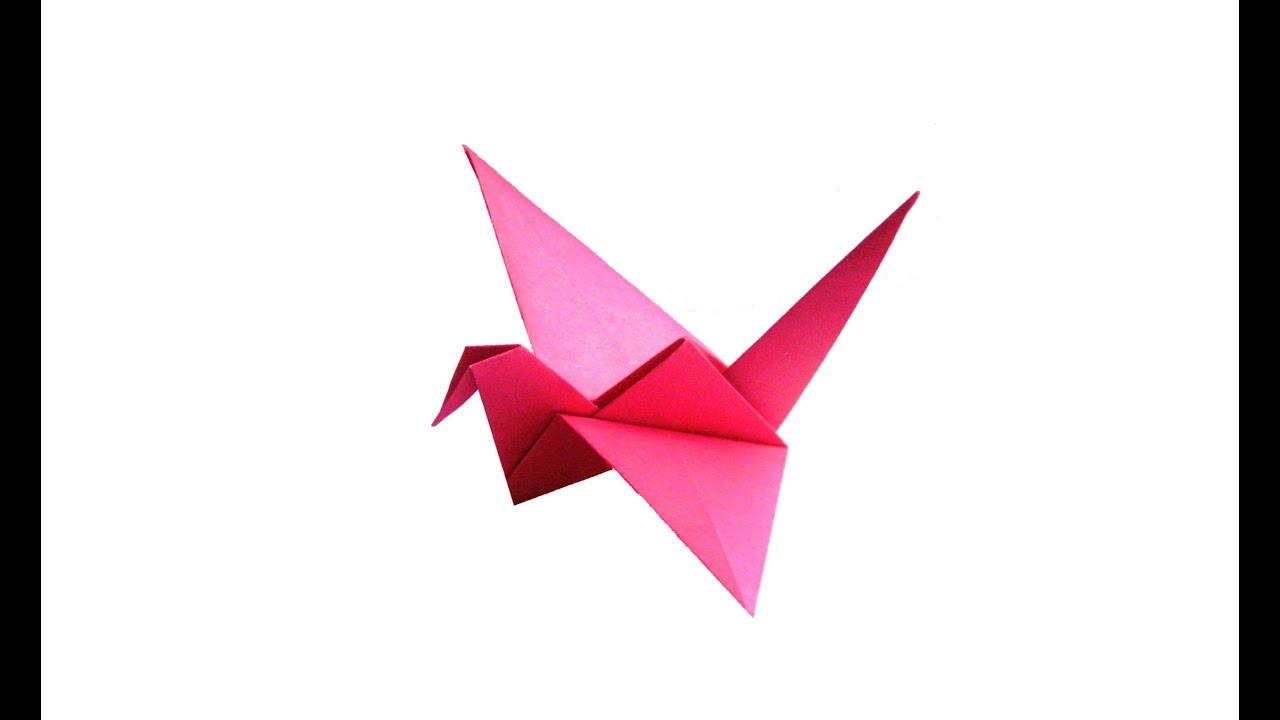 Оригами птица из бумаги своими руками для детей