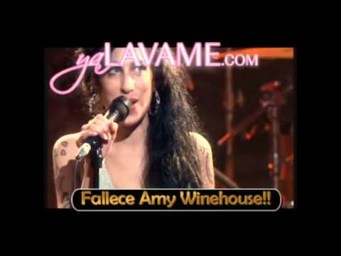 Fallece la Cantante Amy Winehouse de 27 años!!
