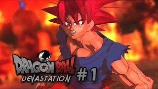 DRAGON BALL DEVASTAT10N - (EPISODE 1) 3D Fan-Animated Series!
