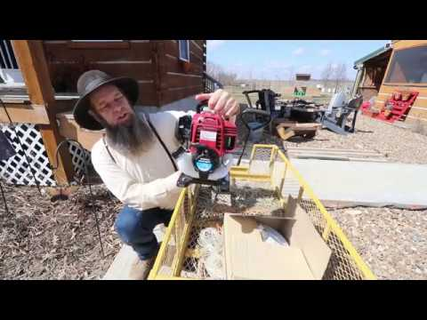 OFF GRID~AMAZING small  WATER PUMP!