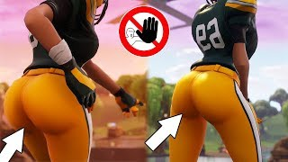 FORTNITE HAS A NEW QUEEN!😍❤️SHOWCASED WITH THICC DANCE EMOTES