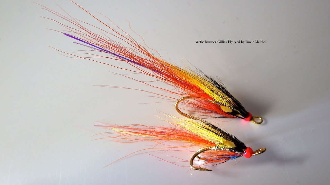 Tying The Ghillies Fly Salmon Fly With Davie Mcphail