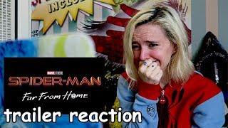 Download Lagu SPIDER-MAN: FAR FROM HOME Official Trailer REACTION Gratis mp3 pedia