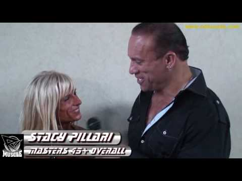 Stacy Pillari After Winning the 2010 NPC Masters Nationals 45+ Overall!.
