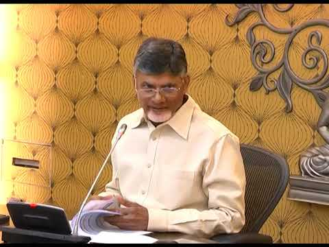 REVIEW MEETING ON POLAVARAM & OTHER PROJECTS BY AP CM AT SECRETARIAT ON 29102018
