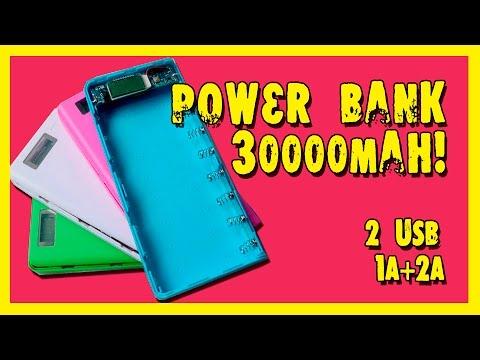 Power Bank 30000mAh. https://goo.gl/JjPNaK.