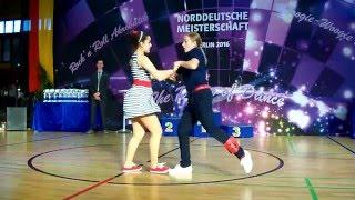 Serafina Fuchs & Paul Siegl - Norddeutsche Meisterschaft 2016
