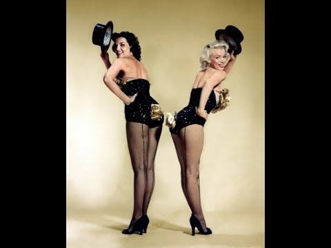 Jane Russell Interviewed About Marilyn Monroe And Gentlemen Prefer Blondes 1992