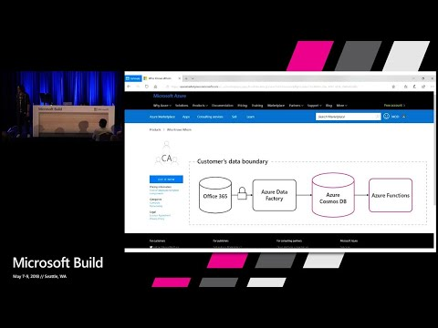 Build intelligent analytics apps with Microsoft Graph and Azure capabilities