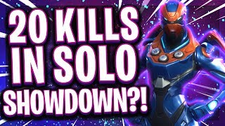 🥇👊20 KILLS IM SCHWERSTEN MODUS IN FORTNITE?! | Solo Showdown Road to Top 10 EU!