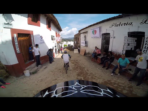 Antoine Bizet - Downhill taxco 2014 course preview