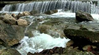 """Waterfall Sounds"" 90mins by a Texas Creek"
