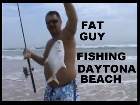FAT GUY Fishing DAYTONA BEACH