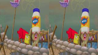 The SpongeBob Movie: Sponge Out of Water - 3d Clip: Food Fight