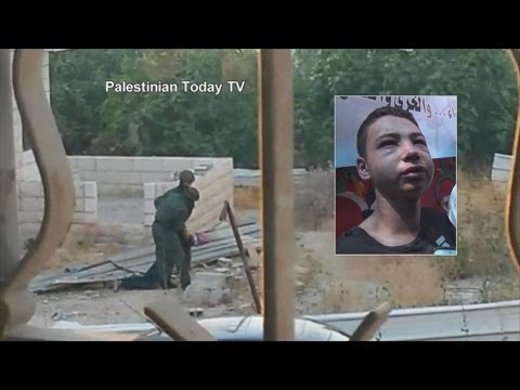 Brutal Video Of Israeli Police Attacking Teen From America