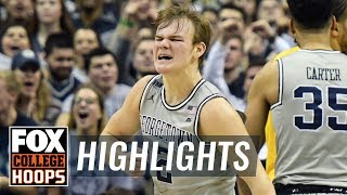 Mac McClung scores 24 points in Georgetown's loss to Marquette   FOX COLLEGE HOOPS HIGHLIGHTS