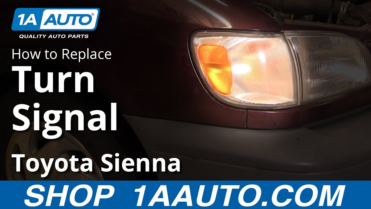 How To Install Replace Parking Turn Signal Light