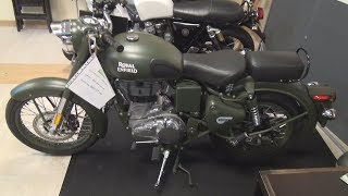 Royal Enfield Classic 500 EFI ABS (2019) Exterior and Interior