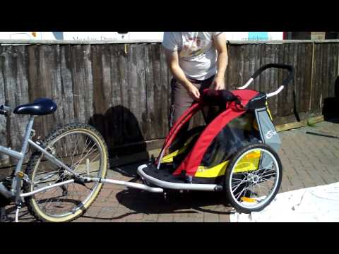 Croozer Childs Bike Trailer 737