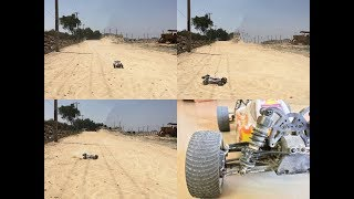 1/10 Scale Brushless RC buggy Dust Bashing