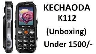 Kechaoda K112 PowerBank Feature Phone