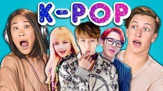 Teens React To K-Pop (BTS - Blood, Sweat & Tears, BLACKPINK, EXO-CBX)
