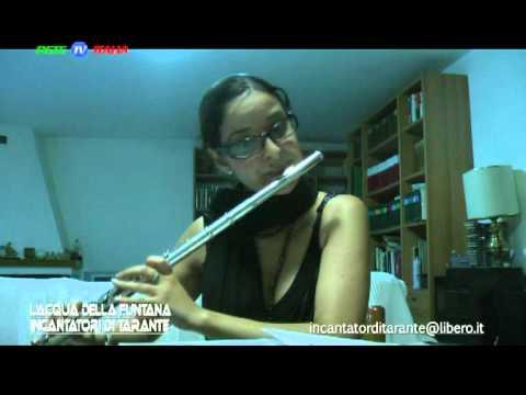 """Incantatori di Tarante """"Acqua della funtana"""" ufficial Video clips Musica by RETE TV ITALIA"""