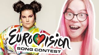 REACTING TO ISRAEL'S EUROVISION 2018 ENTRY! NETTA - TOY (MUSIC VIDEO REACTION)   Sisley Reacts