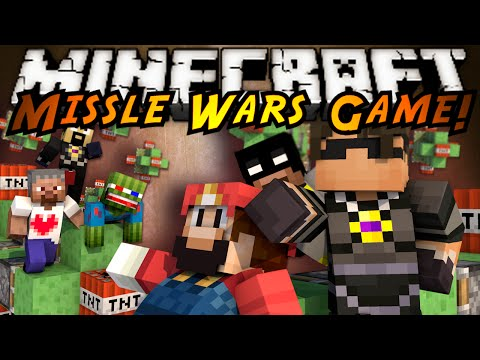 Minecraft Mini-Game : MISSILE WARS!