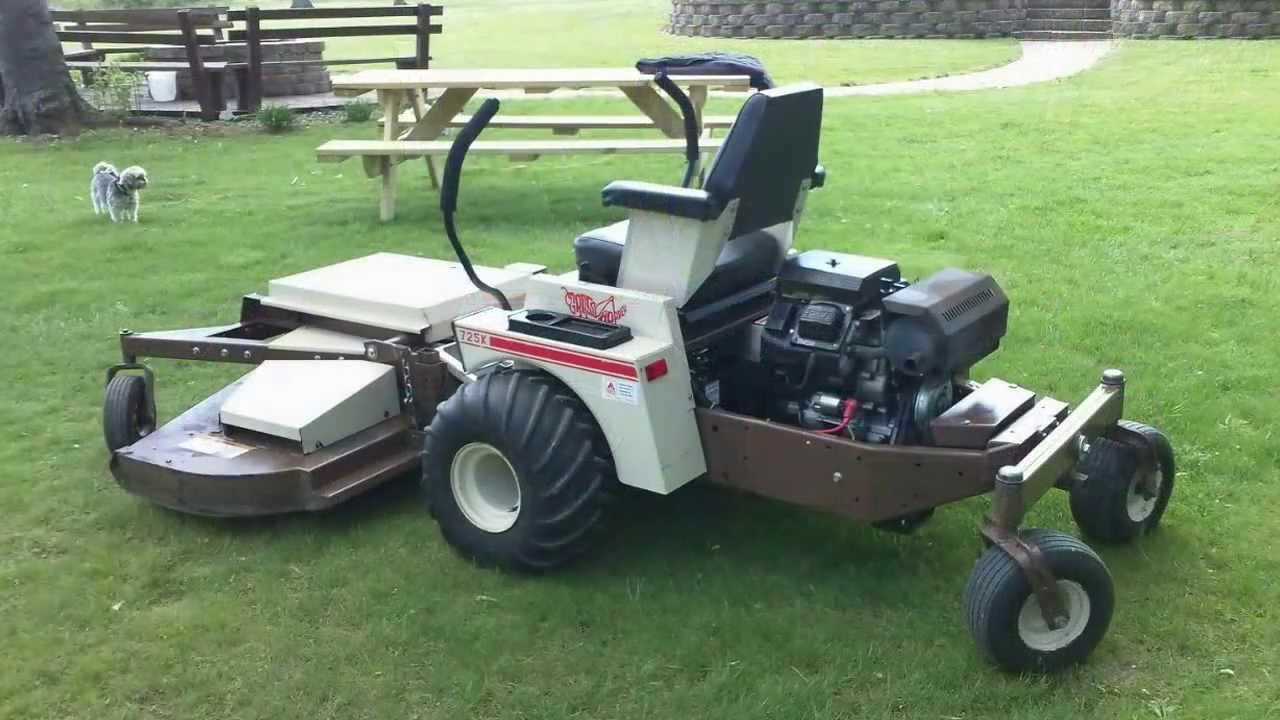 For Sale 1999 Grasshopper 725k Zero Turn Lawn Mower Youtube