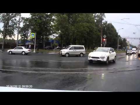 Авария в Питере 12 08 2014