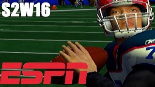 BEST TEAM IN THE NFL - ESPN NFL 2K5 BILLS FRANCHISE VS PATRIOTS (S2W16)