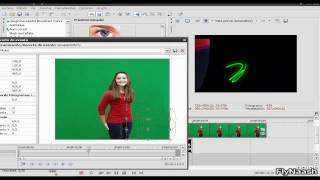 Chroma Key Tutorial On Sony Vegas 8.0.