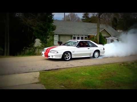1992 Mustang Burnout