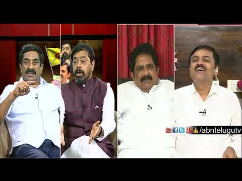 ABN MD Radha Krishna About Narendra Modi And Amit Shah | Big Debate | RK Punch Dialogues
