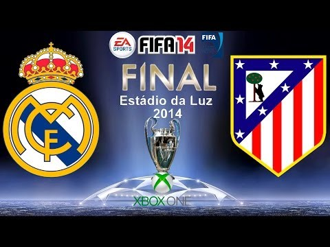 FIFA 14   FINAL CHAMPIONS LEAGUE   REAL MADRID vs ATLETICO DE MADRID   XBOX ONE   GAMEPLAY   HD