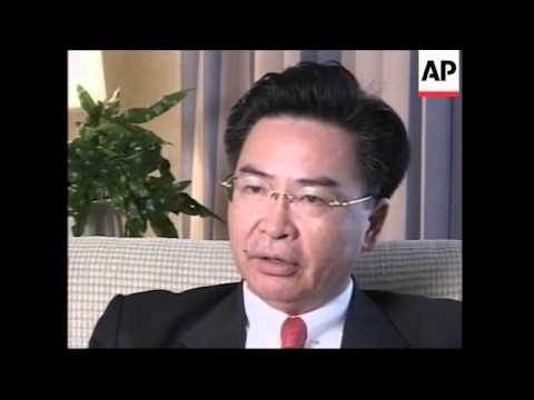 Chairman of the Mainland Affairs Council visits California