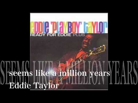 seems like a million years - Eddie Taylor