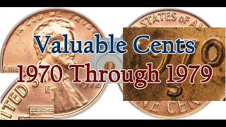 1970 To 1979 Valuable Lincoln Cents Varieties That Can Be Found In Pocket Change