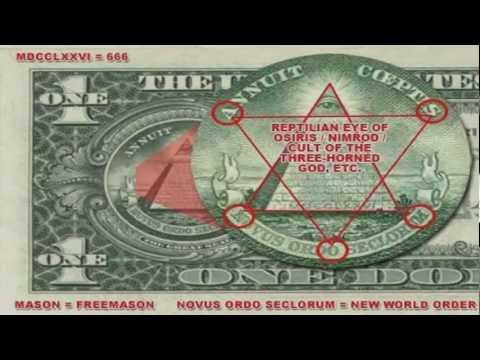 Illuminati On 1 Dollar Bill