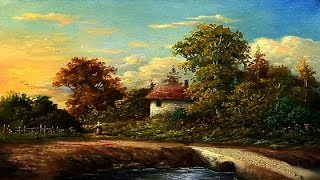Oil Painting Landscape By Yasser Fayad