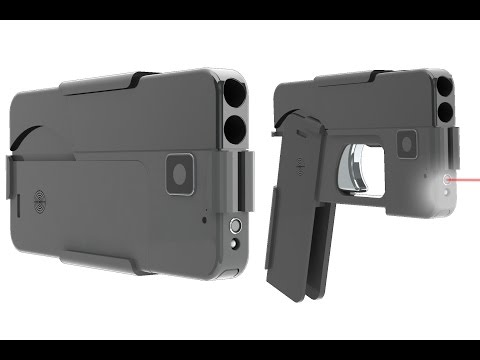Smartphone-Shaped Guns Available Soon