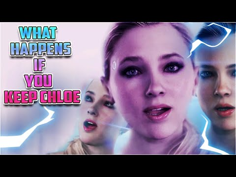 Detroit: What Happens If You Don't Free Chloe? (Main Menu Android)