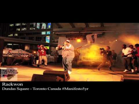 Raekwon the Chef ( Wu-Tang)  Stolen From Africa TV   S/O -Manifesto Festival 2011