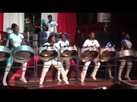 Silver Bird Steel Orchestra in Jamaica