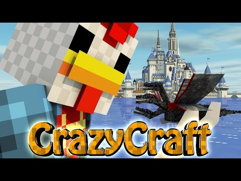 Minecraft | Crazy Craft 2.0 - OreSpawn Modded Survival Ep 197 -