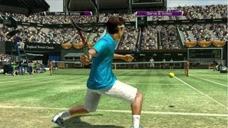 NOOB FEDERER :P - Final Tennis Match VT4 HD