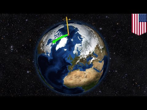 Global warming: Melting of Greenland and Antarctica is moving the North and South poles - TomoNews